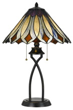 "CAL Lighting BO-2648TB - 23"" Height Metal Table Lamp In Dark Bronze"