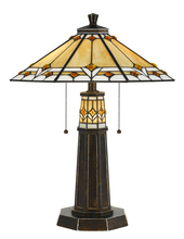 "CAL Lighting BO-2670TB - 24.5"" Height Resin Table Lamp In Bronze"