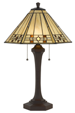 "CAL Lighting BO-2676TB - 26"" Height Resin Table Lamp In Matt Black"