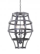 Kalco 7496VI - Townsend 6 Light Lantern
