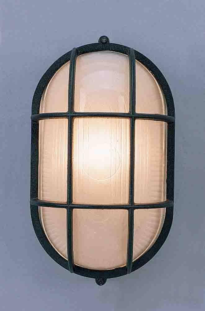 1 - Light Ceiling -Wall Lantern Cast Wet Location