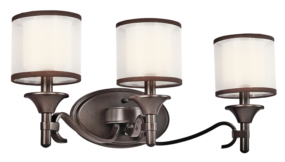 Shop Kichler Lighting 4 Light Bayley Olde Bronze Bathroom: Bath 3Lt : L8T42