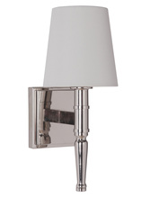 Craftmade 44601-PLN - Ella 1 Light Vanity/Wall Sconce in Polished Nickel