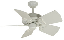 "Craftmade K10743 - Piccolo 30"" Ceiling Fan Kit in White"