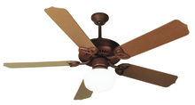 "Craftmade K11152 - Outdoor Patio 52"" Ceiling Fan Kit with Light Kit in Rustic Iron"