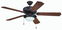 "Craftmade K11206 - Pro Builder 209 52"" Ceiling Fan Kit with Light Kit in Aged Bronze Brushed"