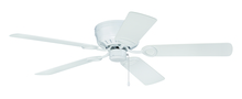 "Craftmade K11244 - Pro Universal Hugger 52"" Ceiling Fan Kit in White"