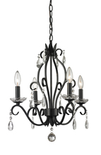 Z-Lite 425MB - 4 Light Mini Chandelier