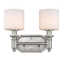 Golden 2116-BA2 PW-OP - 2 Light Bath Vanity