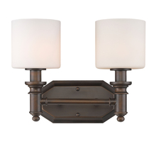 Golden 2116-BA2 RBZ-OP - 2 Light Bath Vanity