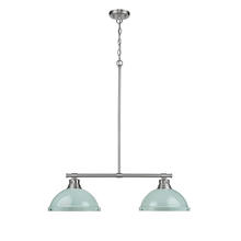 Golden 3602-2LP PW-SF - 2 Light Linear Pendant