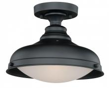 Vaxcel International C0113 - Keenan 1L Semi-Flush Mount