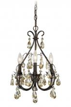 Vaxcel International H0035 - Alicia 3L Mini Chandelier