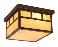 "Vaxcel International OF37211BBZ - Mission 12"" Outdoor Ceiling Light"